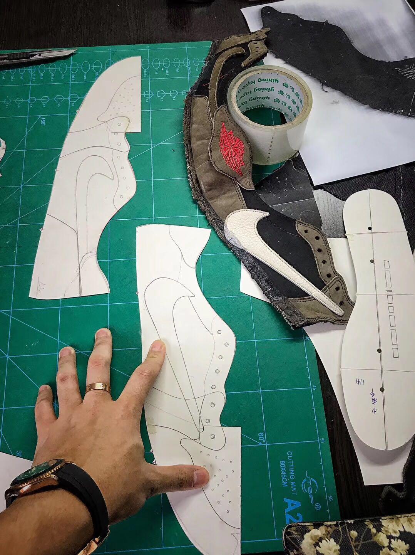 Nghiên cứu chất liệu làm giày replica 1:1