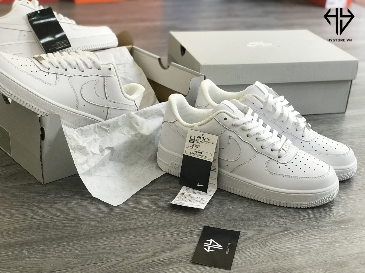 giày nike air force 1 full trắng hàng chuẩn rep 1:1