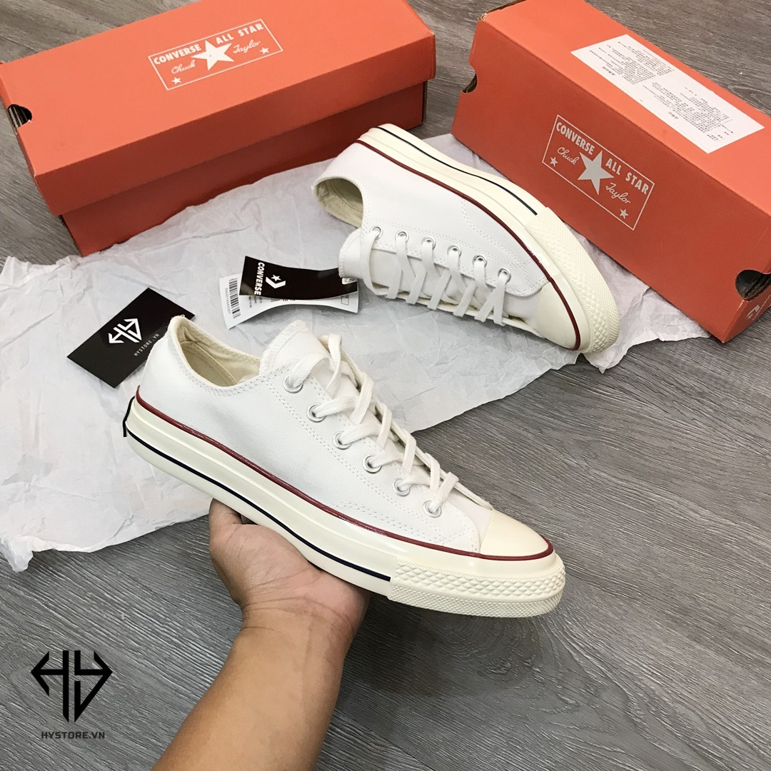 converse 1970s low white