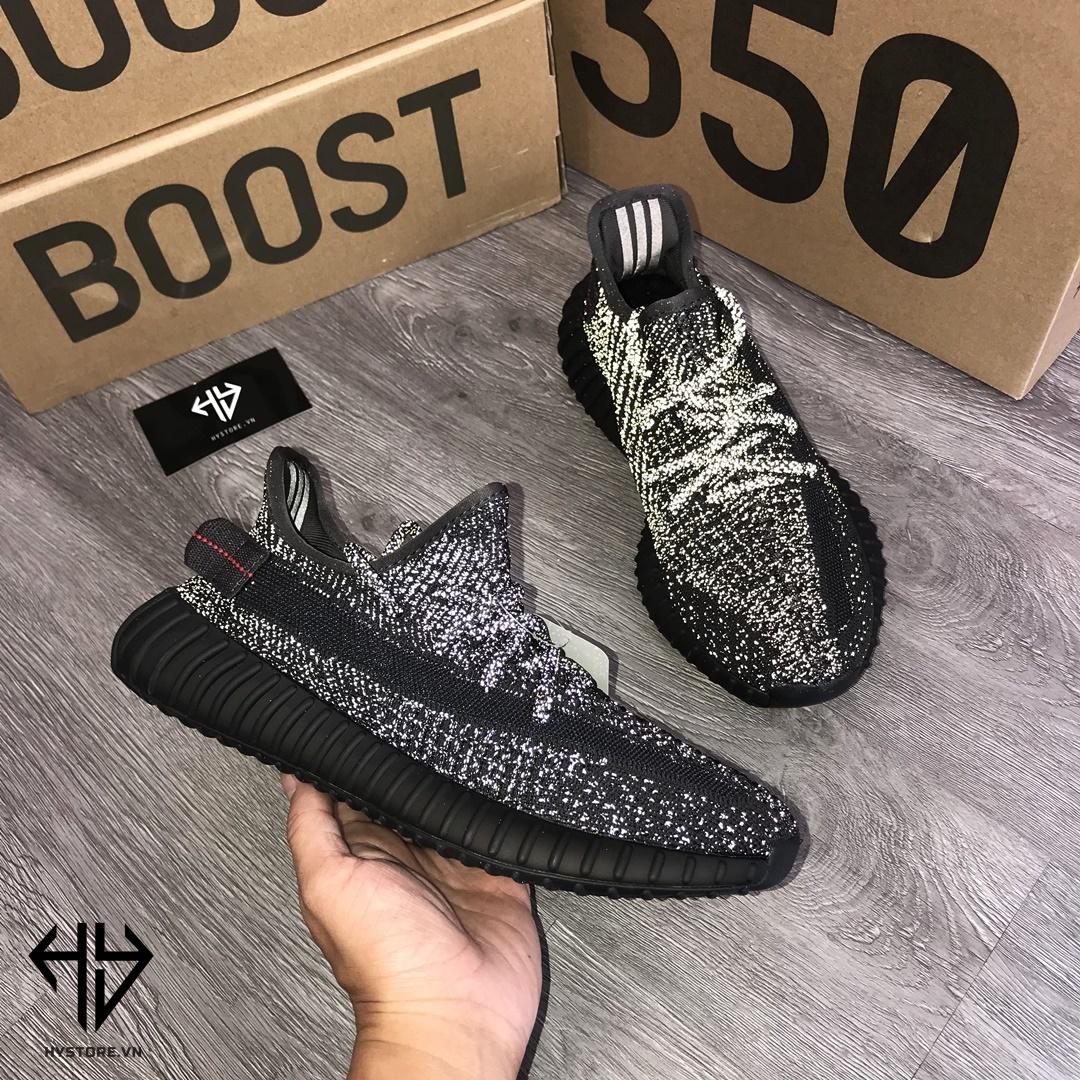 Adidas Yeezy 350v2 Static Black