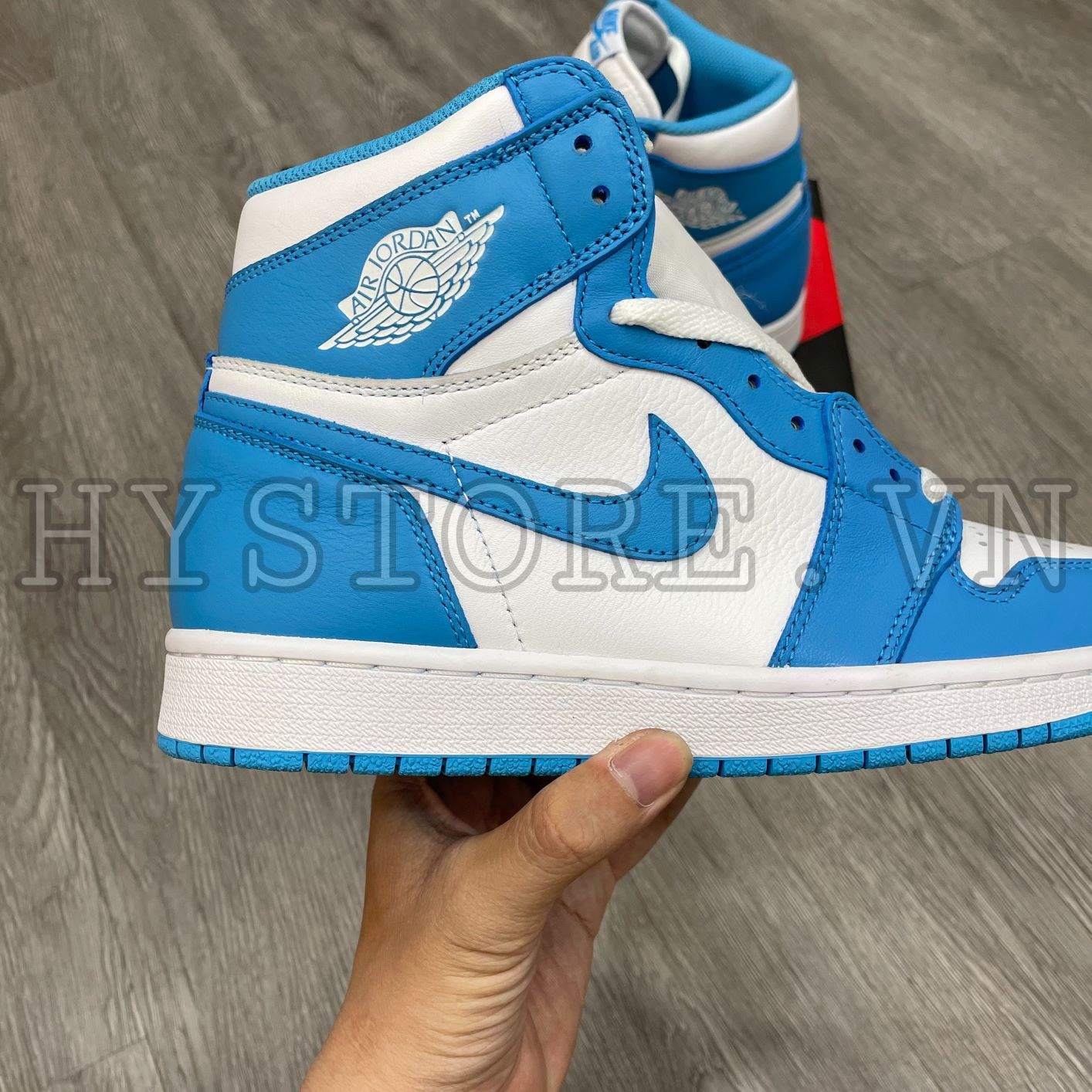 Giày Nike Air Jordan1 High UNC