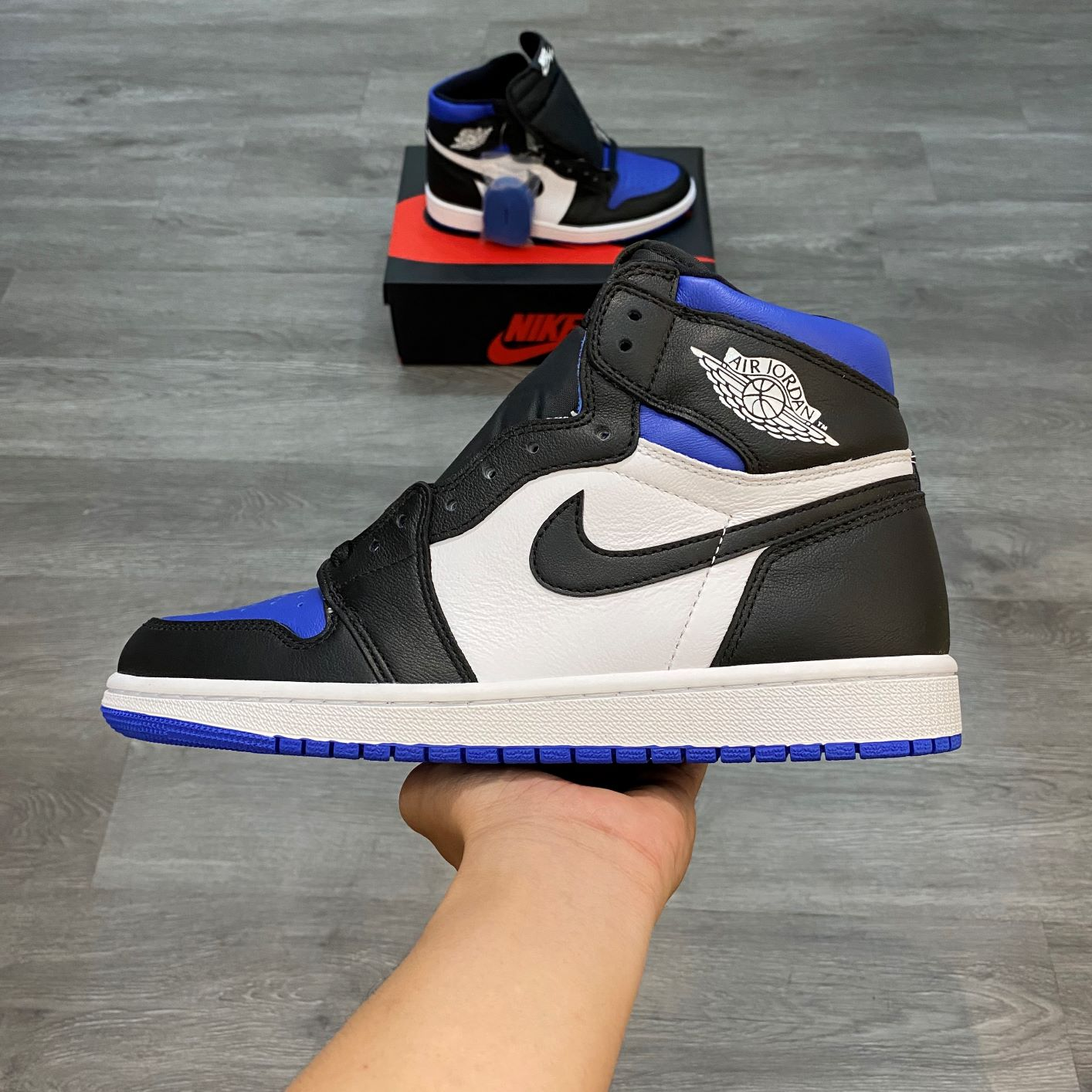 Nike Air Jordan1 High Royal Toe