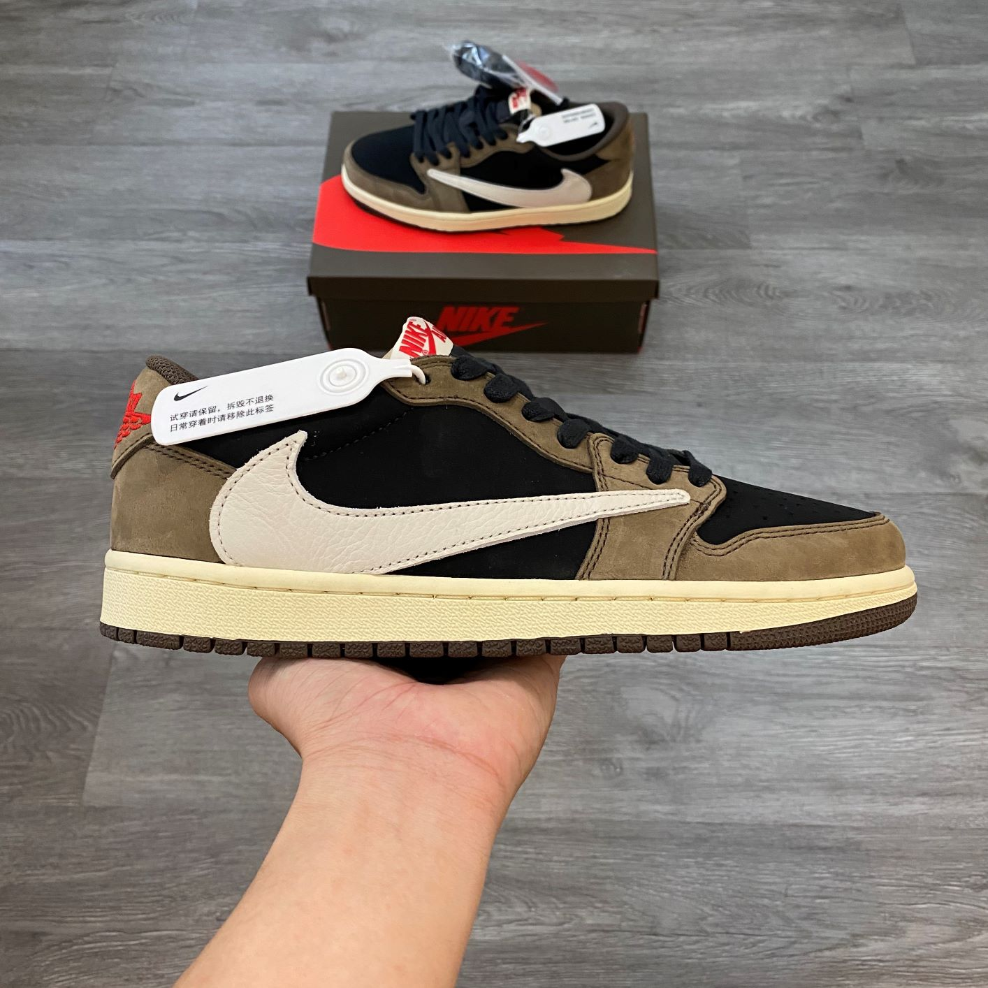 Nike Jordan1 Low Travis Scott
