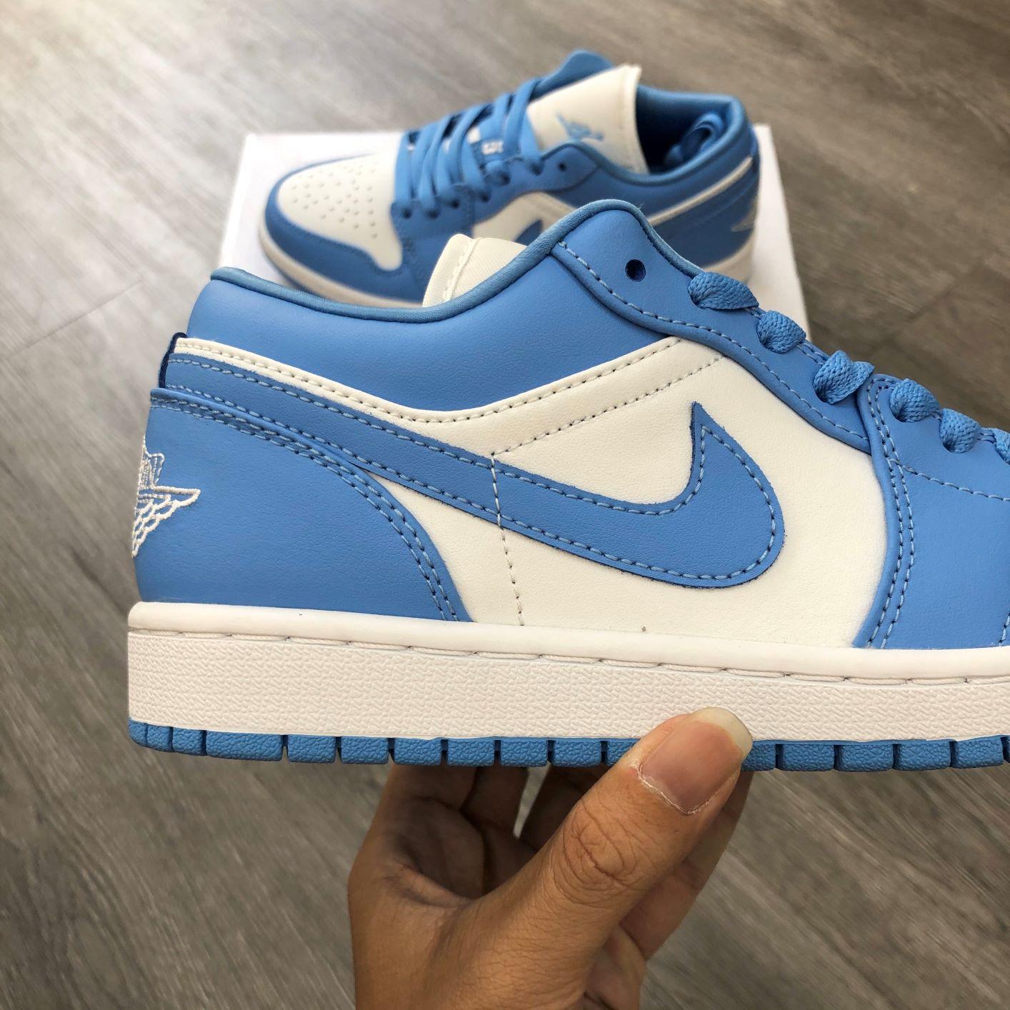 Giày Nike Air Jordan1 Low UNC