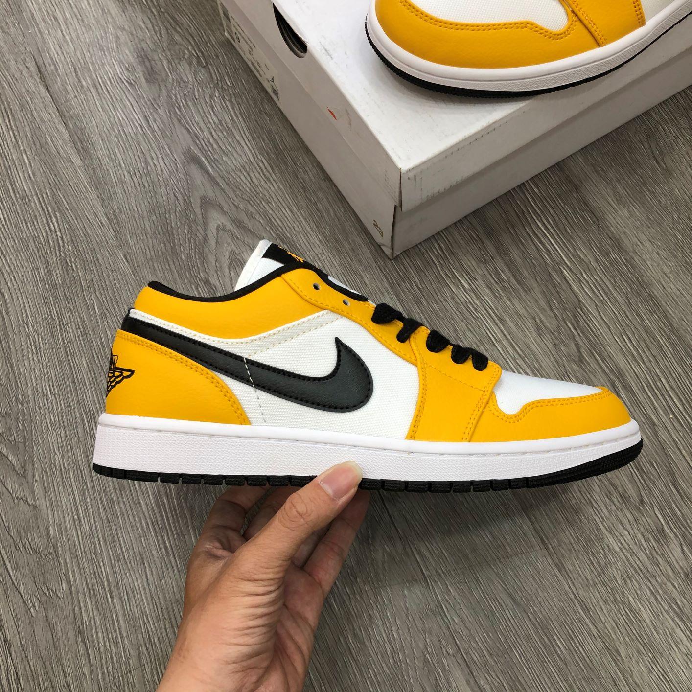 Giày Jordan1 Low Laser Orange