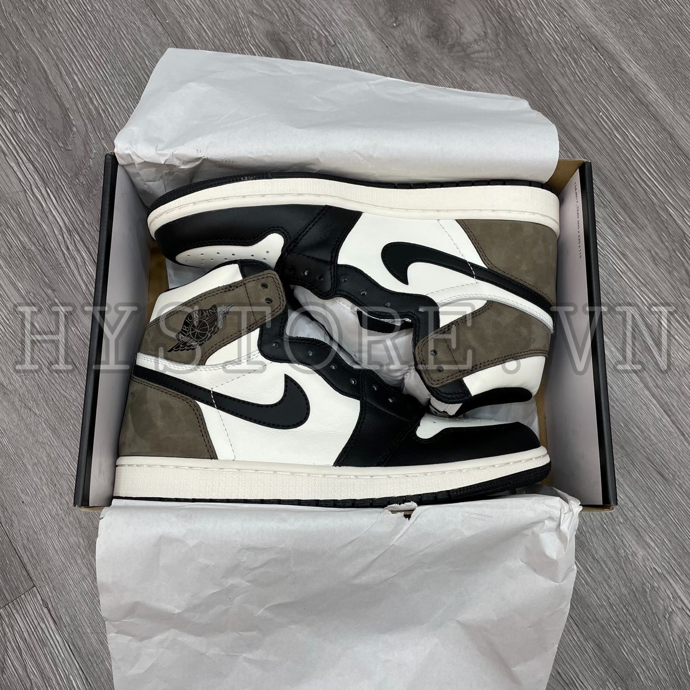 Giày Nike Air Jordan1 High Mocha