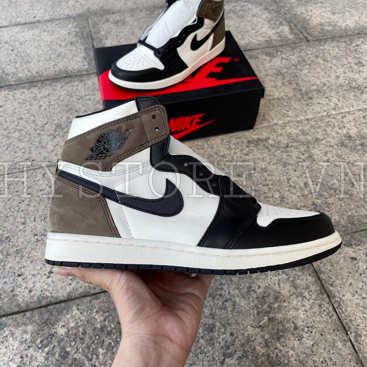 Giày Nike Air Jordan1 High Mocha
