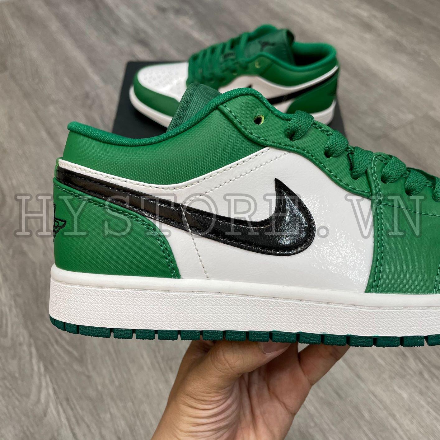 Giày Nike Jordan1 low pine green