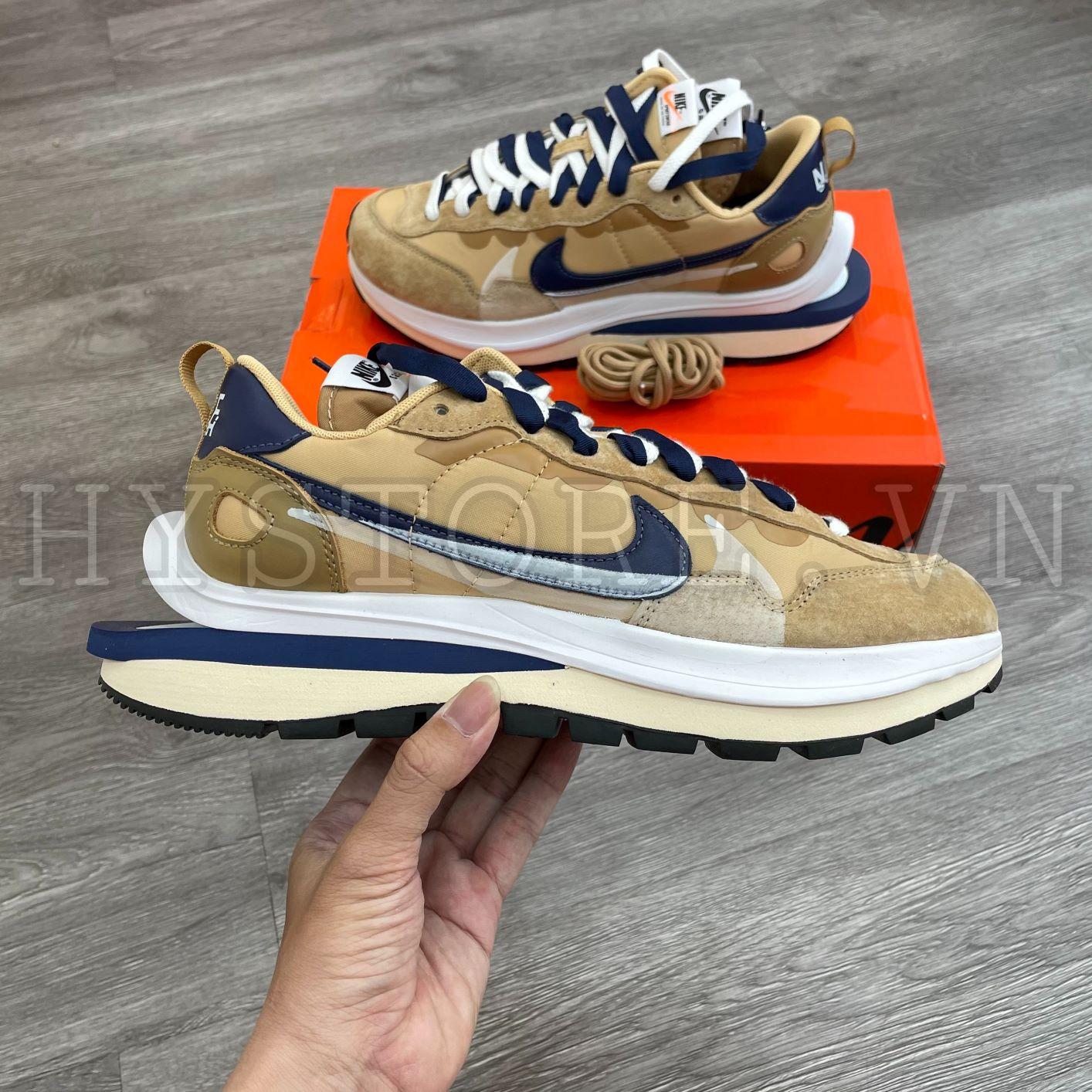 Giày Nike Sacai VaporWaffle Sesame