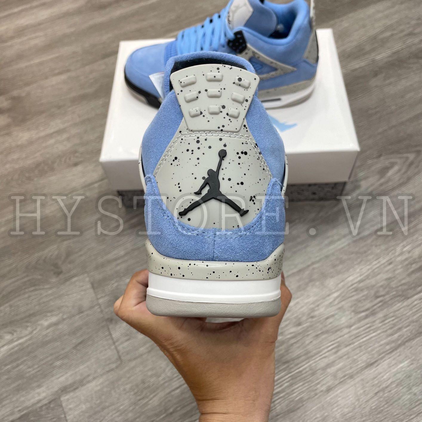 Giày Nike Air Jordan4 University Blue