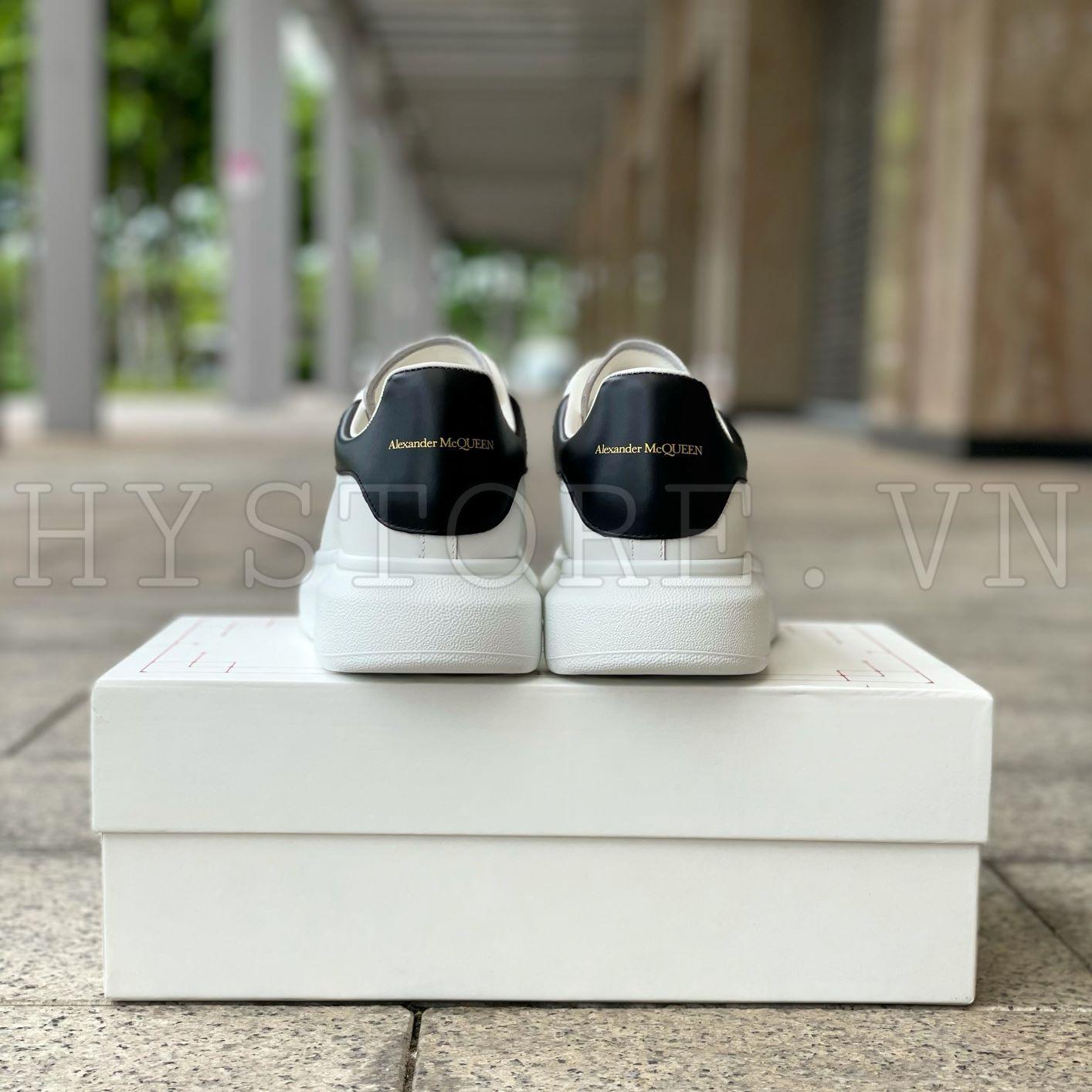 Giày Alexander Mcqueen Sneaker White Black